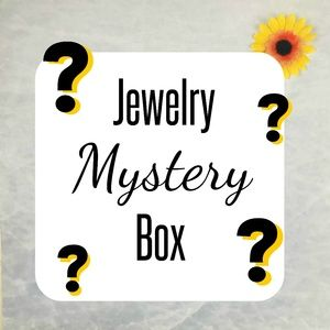 Mystery Jewelry Box 5 Pieces Earring Necklace New